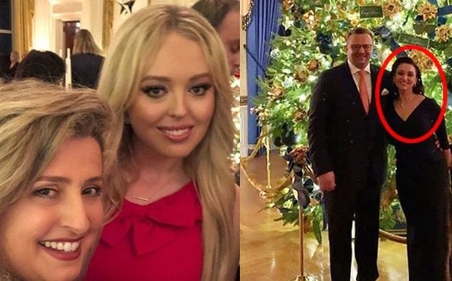 """Tiffany Trump cùng gia đình bạn trai triệu phú dự Giáng sinh tại Nhà Trắng, """"mẹ chồng"""" tương lai của cô mới đáng chú ý hơn cả"""