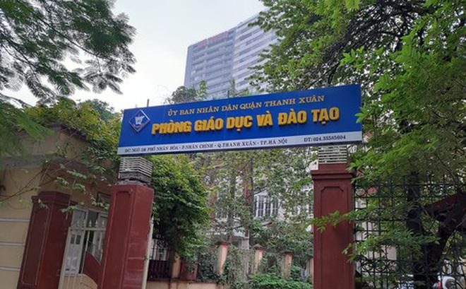 Thông tin mới nhất vụ phòng GD&ĐT Thanh Xuân ra đề quá khó khiến học sinh phải thi lại