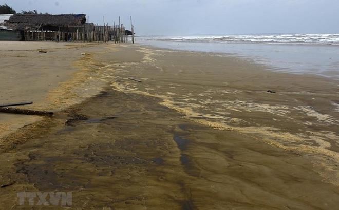 Vụ nước biển đổi màu ở Quảng Ngãi: Phạt Công ty Hào Hưng 75 triệu đồng