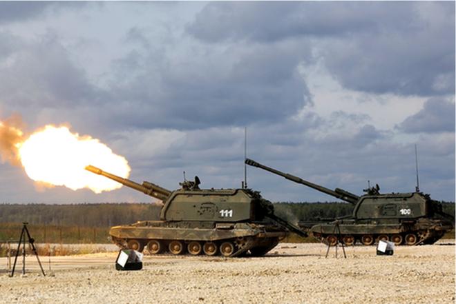 [ẢNH] Nga nâng cấp hỏa thần 2S19M2 với tầm bắn 40km - Ảnh 1.