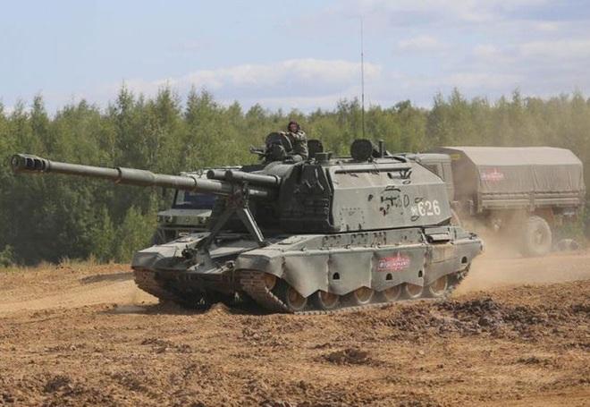 [ẢNH] Nga nâng cấp hỏa thần 2S19M2 với tầm bắn 40km - Ảnh 2.