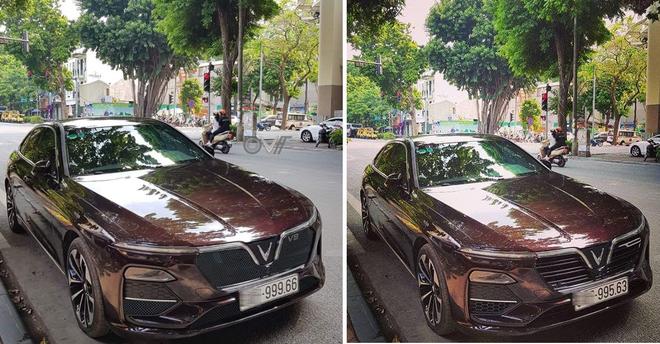 Tranh cãi thân thế chiếc Vinfast Lux V8 biển kép siêu đẹp gây bão mạng - Ảnh 2.
