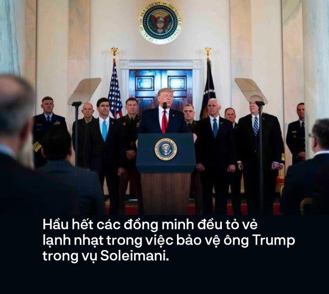Vụ hạ sát tướng Soleimani chẳng ảnh hưởng gì đến tiền đồ của ông Trump, nhưng sẽ biến Trung Đông thành mớ bòng bong - Ảnh 4.