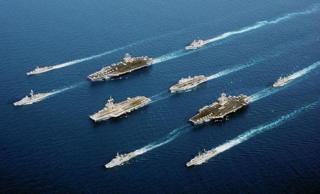 Chuyên gia Mỹ kinh ngạc: Đến Nga cũng tin rằng Hải quân Mỹ sẽ đánh bại Trung Quốc - Ảnh 1.
