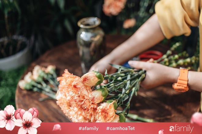 Vừa dễ cắm lại vừa đẹp, hoa cẩm chướng chính là loại hoa không thể thiếu trong ngày Tết - Ảnh 11.