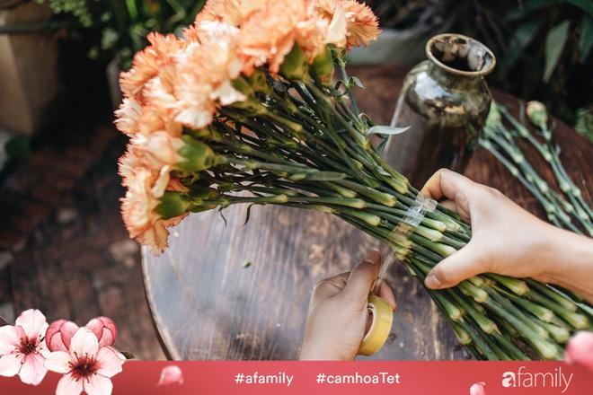Vừa dễ cắm lại vừa đẹp, hoa cẩm chướng chính là loại hoa không thể thiếu trong ngày Tết - Ảnh 13.