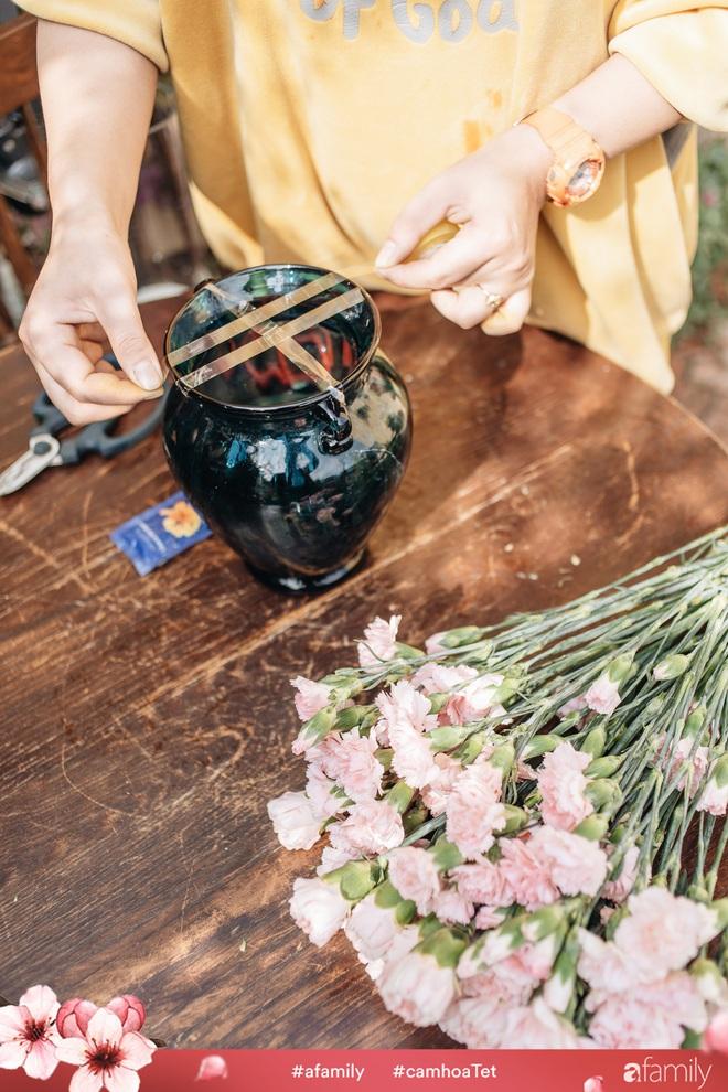 Vừa dễ cắm lại vừa đẹp, hoa cẩm chướng chính là loại hoa không thể thiếu trong ngày Tết - Ảnh 22.