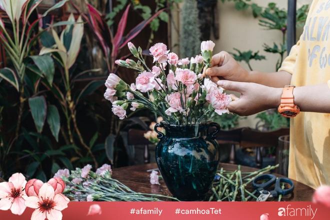 Vừa dễ cắm lại vừa đẹp, hoa cẩm chướng chính là loại hoa không thể thiếu trong ngày Tết - Ảnh 25.
