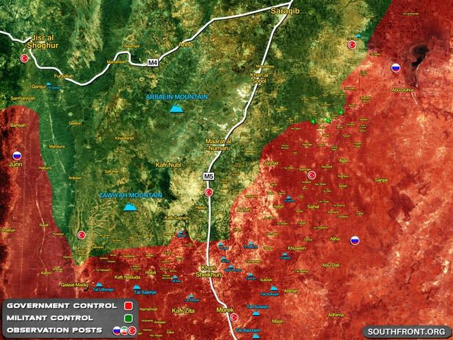 Chiến sự Syria: Nga-Syria mở hành lang nhân đạo, SAA chuẩn bị tổng tấn công Idlib, HĐBA ra quyết định bất ngờ? - Ảnh 1.