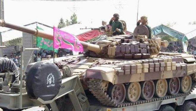 Báo Nga: Iran tập trận bằng xe tăng vỏ Anh, ruột Nga có sức mạnh tương đương T-90A? - Ảnh 3.