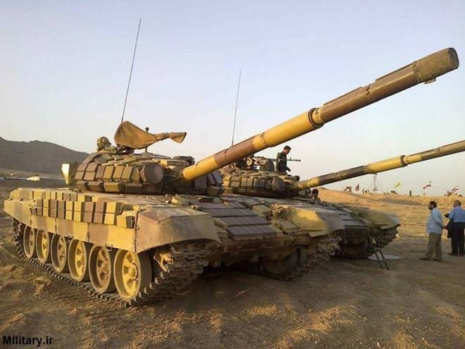 Báo Nga: Iran tập trận bằng xe tăng vỏ Anh, ruột Nga có sức mạnh tương đương T-90A? - Ảnh 4.