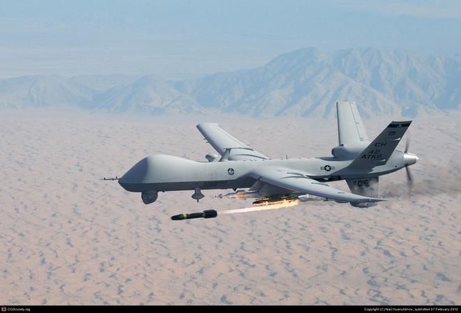 Tướng Iran: 8 UAV MQ-9 của Mỹ bị khóa chết trước đòn trả thù bằng tên lửa - Ảnh 2.