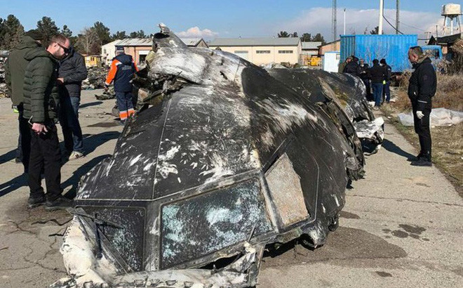 Tên lửa Iran bắn phi công máy bay Ukraine chết ngay lập tức