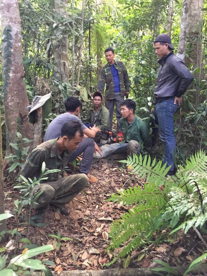 4 cán bộ phân trường bị tạm giam vì để lâm tặc vào rừng khai thác gỗ trái phép - Ảnh 1.