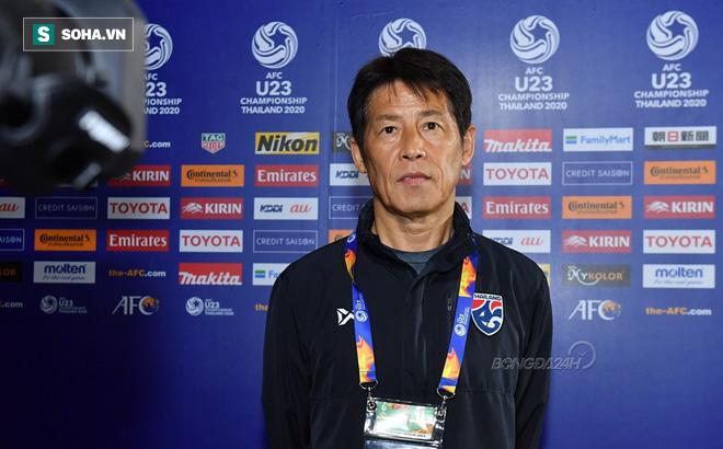 HLV U23 Thái Lan nói về nỗi đau SEA Games sau khi lập chiến tích sử ở giải U23 châu Á