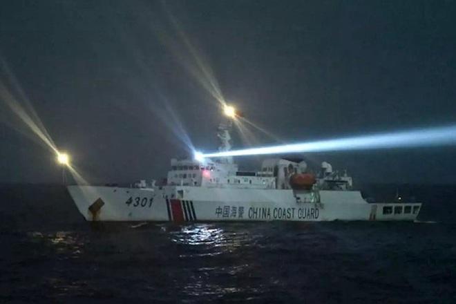 Indonesia công bố hình ảnh chi tiết cuộc đối đầu với tàu Trung Quốc trên vùng biển Natuna - Ảnh 4.