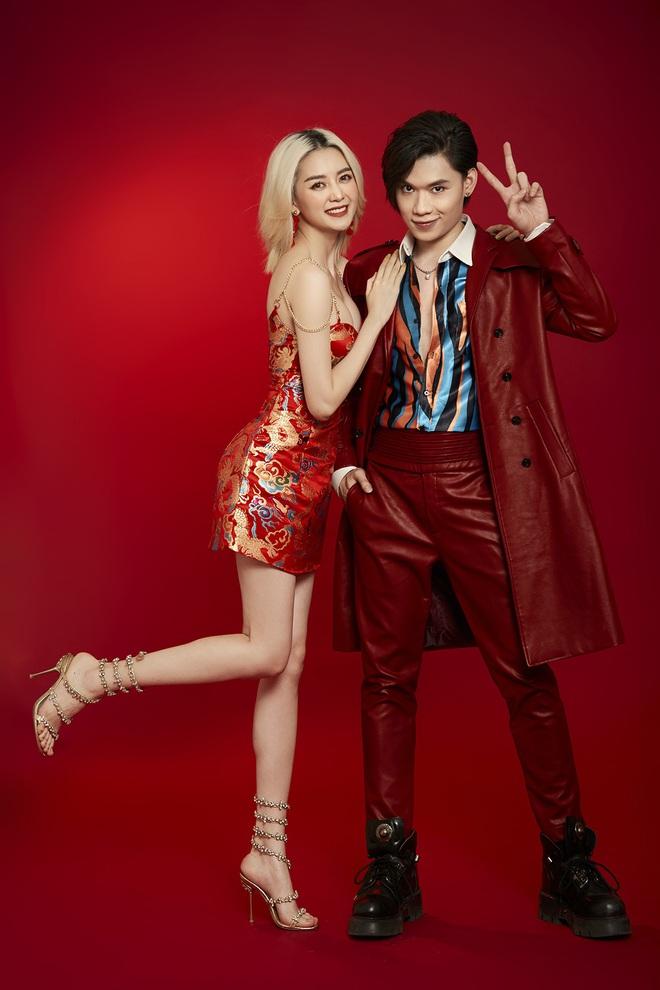 Thiều Bảo Trang mặc sexy, chụp hình tình tứ cùng Quang Trung - Ảnh 3.