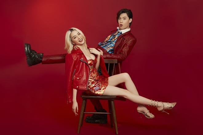 Thiều Bảo Trang mặc sexy, chụp hình tình tứ cùng Quang Trung - Ảnh 2.