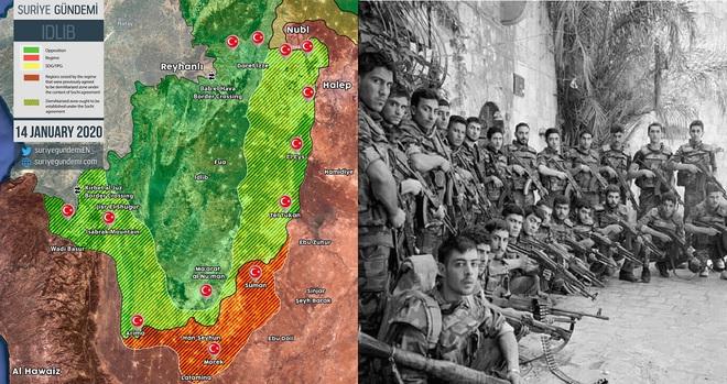 Nga-Thổ giăng thế trận, khủng bố như cá nằm trên thớt, Quân đội Syria chờ giờ G? - Ảnh 5.