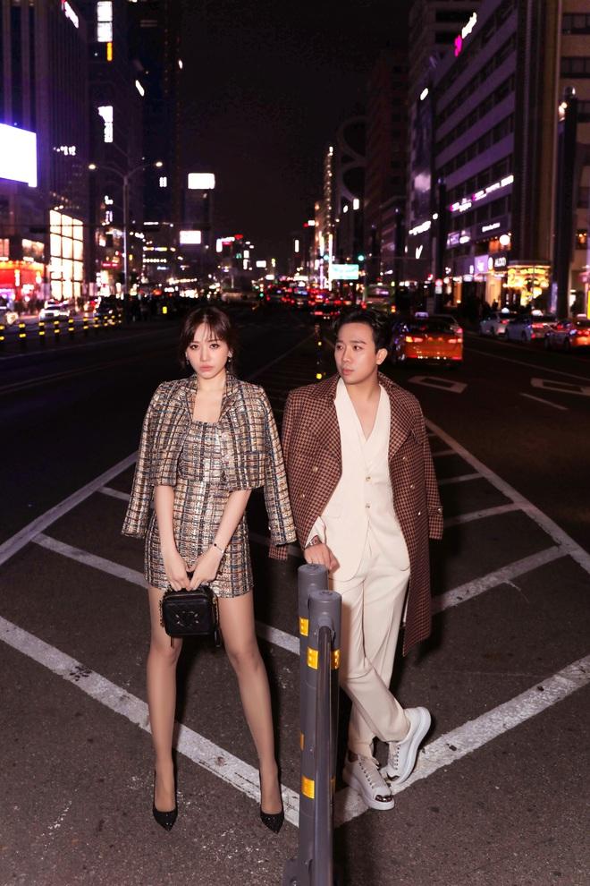 Hari Won mặc gợi cảm khi đi du lịch sang chảnh cùng Trấn Thành - Ảnh 6.