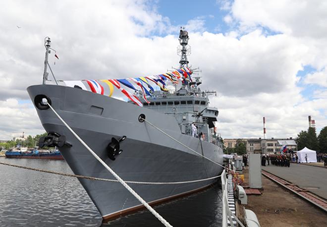 [ẢNH] Tàu trinh sát điện tử Nga giúp Iran chặn đứng cuộc tấn công trả đũa của Mỹ? - Ảnh 1.