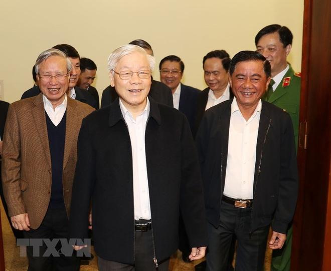 Tổng Bí thư, Chủ tịch nước chủ trì phiên họp về phòng chống tham nhũng - Ảnh 1.