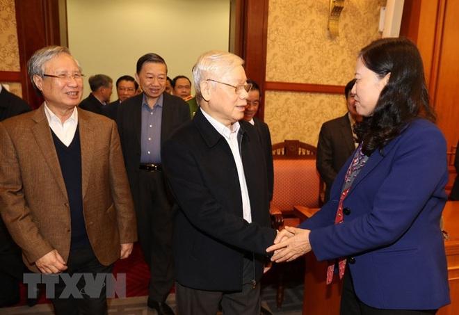 Tổng Bí thư, Chủ tịch nước chủ trì phiên họp về phòng chống tham nhũng - Ảnh 2.