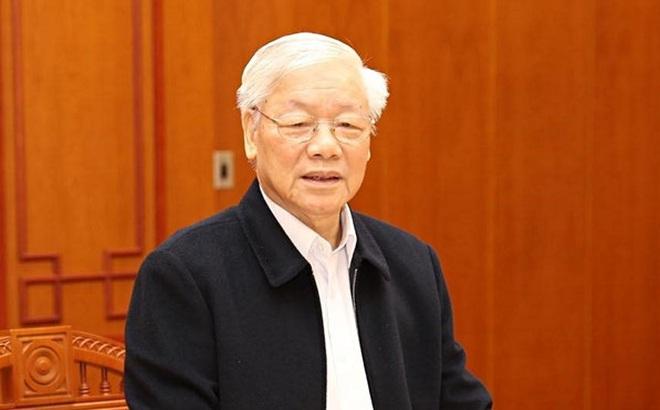 """Tổng Bí thư, Chủ tịch nước Nguyễn Phú Trọng: Xét xử 'đại án"""" chú trọng xác minh, điều tra làm rõ hành vi tham nhũng, chiếm đoạt"""