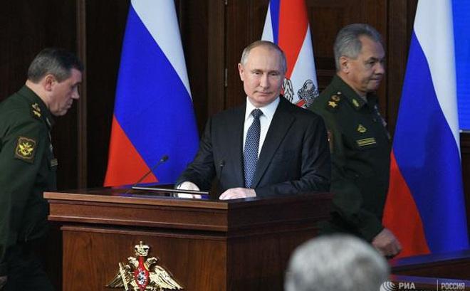 Tổng thống Putin: Lần đầu tiên Nga trở thành nước dẫn đầu trong lĩnh vực vũ khí