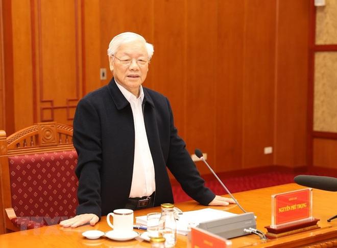 Tổng Bí thư, Chủ tịch nước chủ trì phiên họp về phòng chống tham nhũng - Ảnh 8.
