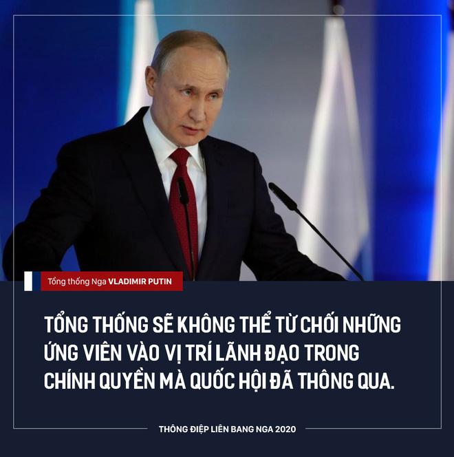 TT Putin đề xuất điều chỉnh quyền lực của Quốc hội, ưu tiên hiến pháp Nga hơn luật pháp quốc tế - Ảnh 2.