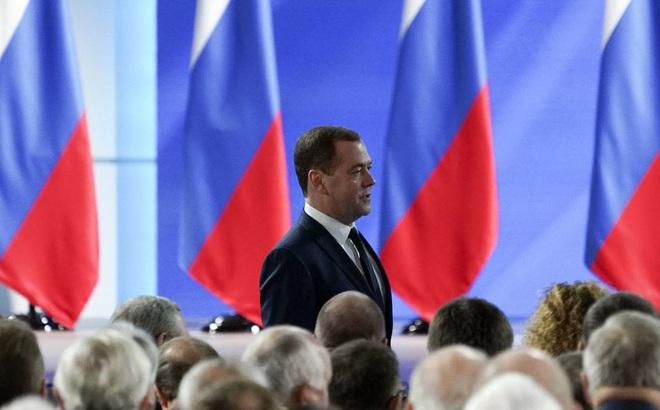 """Chức vụ mới """"bí ẩn"""": Tương lai nào đang chờ đợi Thủ tướng Nga sắp mãn nhiệm Dmitry Medvedev?"""