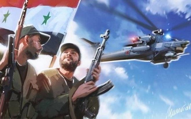 """Điểm mặt các đơn vị sừng sỏ tại tây bắc Syria, tụ """"đòn sấm sét"""" hủy diệt khủng bố?"""