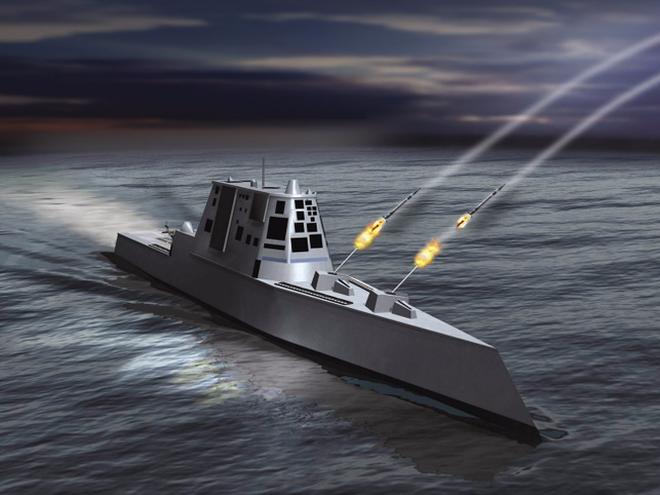[ẢNH] Khu trục hạm 'siêu dị' của Mỹ có thể tấn công toàn cầu chỉ trong 1 giờ - ảnh 1