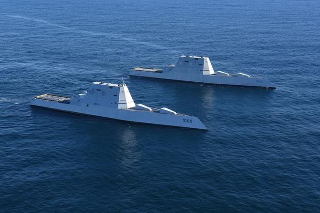[ẢNH] Khu trục hạm 'siêu dị' của Mỹ có thể tấn công toàn cầu chỉ trong 1 giờ - ảnh 10