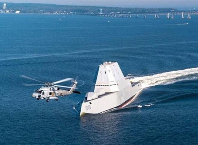 [ẢNH] Khu trục hạm 'siêu dị' của Mỹ có thể tấn công toàn cầu chỉ trong 1 giờ - ảnh 12