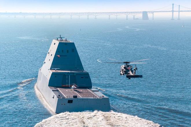 [ẢNH] Khu trục hạm 'siêu dị' của Mỹ có thể tấn công toàn cầu chỉ trong 1 giờ - ảnh 13