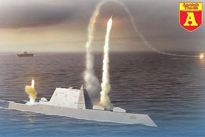 [ẢNH] Khu trục hạm 'siêu dị' của Mỹ có thể tấn công toàn cầu chỉ trong 1 giờ - ảnh 14