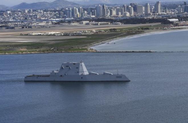 [ẢNH] Khu trục hạm 'siêu dị' của Mỹ có thể tấn công toàn cầu chỉ trong 1 giờ - ảnh 15