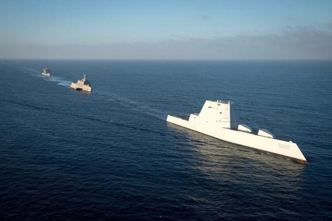 [ẢNH] Khu trục hạm 'siêu dị' của Mỹ có thể tấn công toàn cầu chỉ trong 1 giờ - ảnh 18