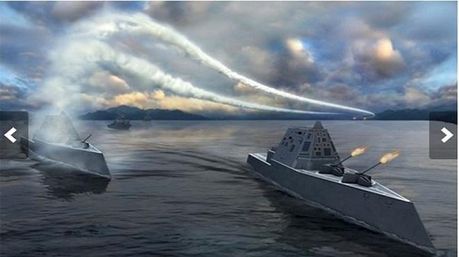 [ẢNH] Khu trục hạm 'siêu dị' của Mỹ có thể tấn công toàn cầu chỉ trong 1 giờ - ảnh 19