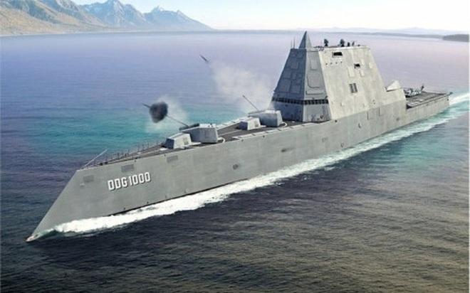 [ẢNH] Khu trục hạm 'siêu dị' của Mỹ có thể tấn công toàn cầu chỉ trong 1 giờ - ảnh 2