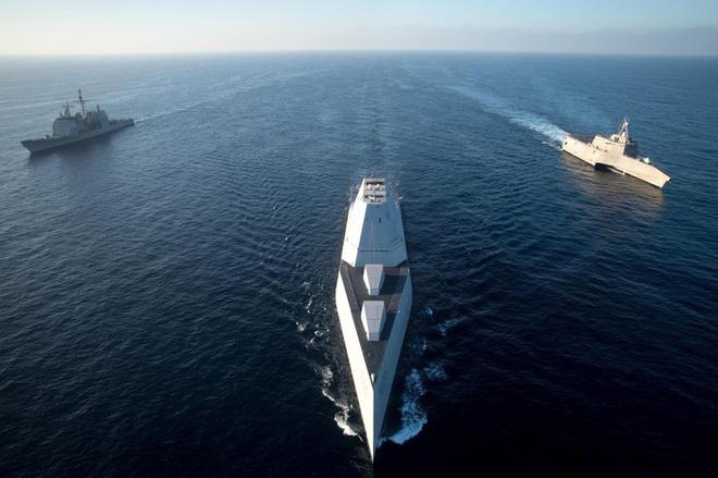 [ẢNH] Khu trục hạm 'siêu dị' của Mỹ có thể tấn công toàn cầu chỉ trong 1 giờ - ảnh 20