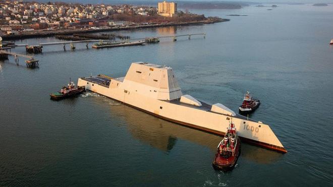 [ẢNH] Khu trục hạm 'siêu dị' của Mỹ có thể tấn công toàn cầu chỉ trong 1 giờ - ảnh 3