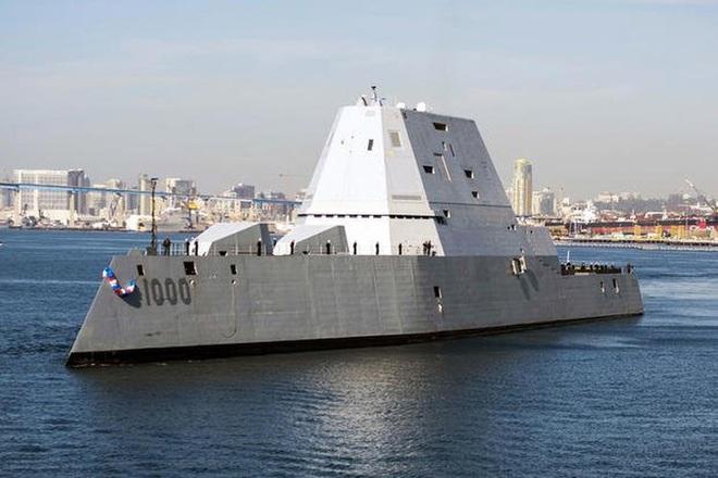 [ẢNH] Khu trục hạm 'siêu dị' của Mỹ có thể tấn công toàn cầu chỉ trong 1 giờ - ảnh 4