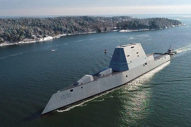 [ẢNH] Khu trục hạm 'siêu dị' của Mỹ có thể tấn công toàn cầu chỉ trong 1 giờ - ảnh 5