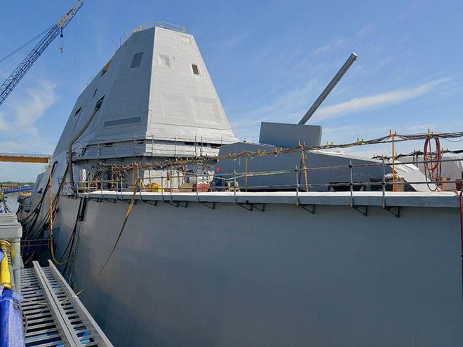 [ẢNH] Khu trục hạm 'siêu dị' của Mỹ có thể tấn công toàn cầu chỉ trong 1 giờ - ảnh 6