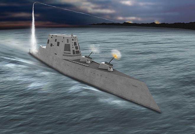 [ẢNH] Khu trục hạm 'siêu dị' của Mỹ có thể tấn công toàn cầu chỉ trong 1 giờ - ảnh 9