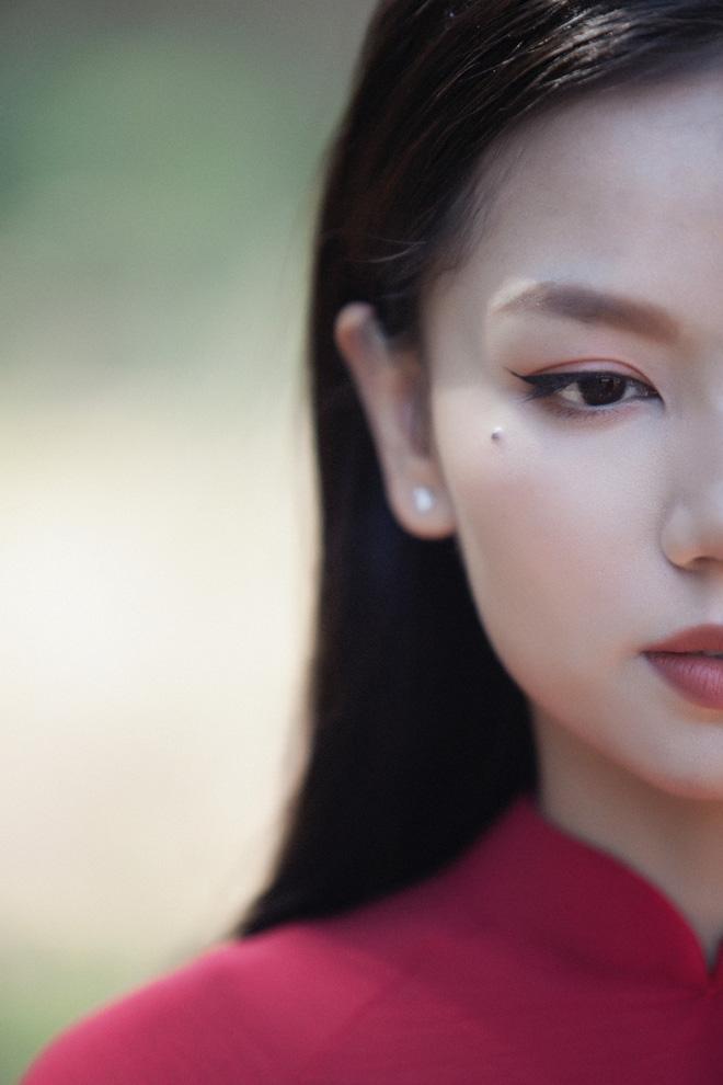 Hot girl Cả một đời ân oán Hạ Anh xinh đẹp trong tà áo dài, tiết lộ dự án với tài tử TVB - Ảnh 5.