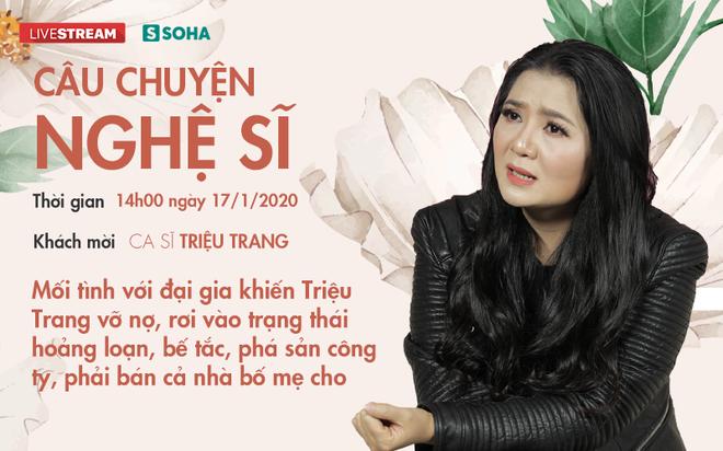 Mối tình với đại gia khiến ca sĩ Triệu Trang vỡ nợ, hoảng loạn, phải bán cả nhà bố mẹ cho - Ảnh 1.